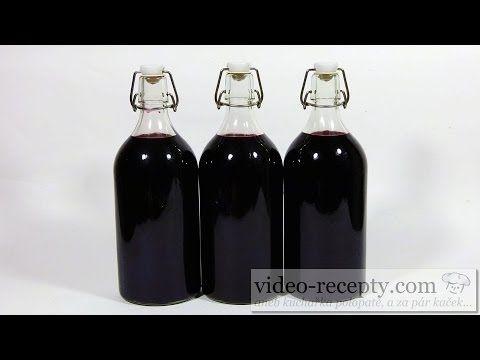 Sirup z černého bezu - videorecept