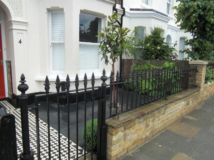 A Life Designing: Victorian front garden design in Chiswick