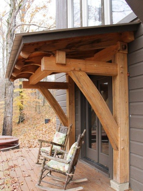 66 Best Rustic Awning Images On Pinterest Window Awnings