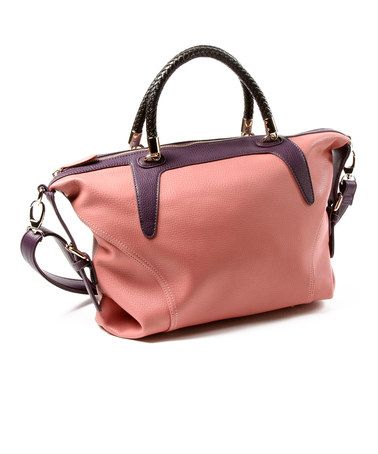 Want this bag.  Take a look at this Rose & Purple East Hampton Tote by Amrita Singh on #zulily today!