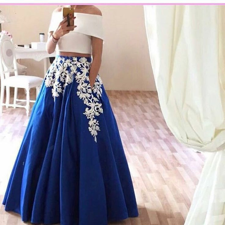 Find More Evening Dresses Information about Stunning 2016 two pieces prom…