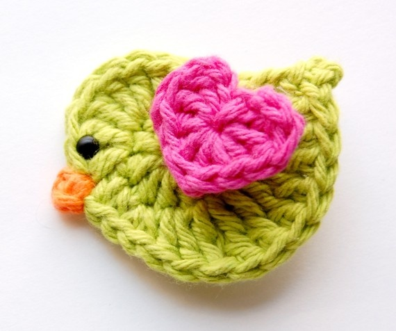 Finally, the perfect crochet birdie for my little bird!