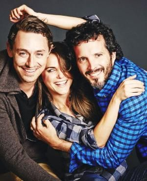 Cast of Austenland - JJ Feild, Kerri Russell and Bret McKenzie by kerry