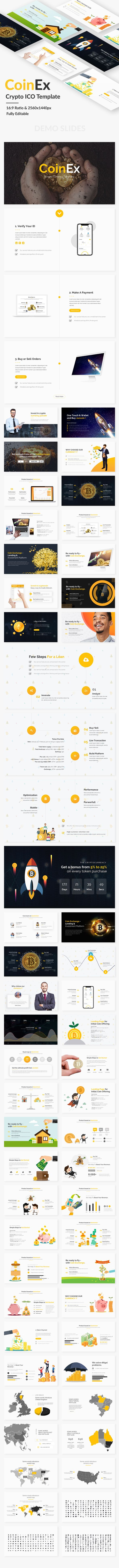 1952 best powerpoint template images on pinterest black man coin exchange and crypto currency powerpoint template ppt tech enterprise download toneelgroepblik Image collections