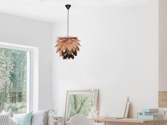 Modern Ceiling Lamp Pendant - Chandelier - Copper - SILVIA mini