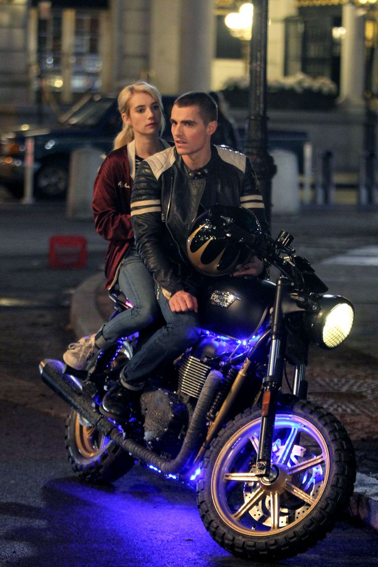 Emma Roberts and Dave Franco film Nerve on May 20, 2015, in New York City…