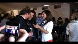 Wine Video: Monique Soltani Interviews Gina Gallo & Jean-Charles Boisset