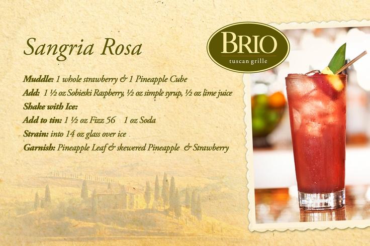 Sangria Rosa - Mom's favorite drink!