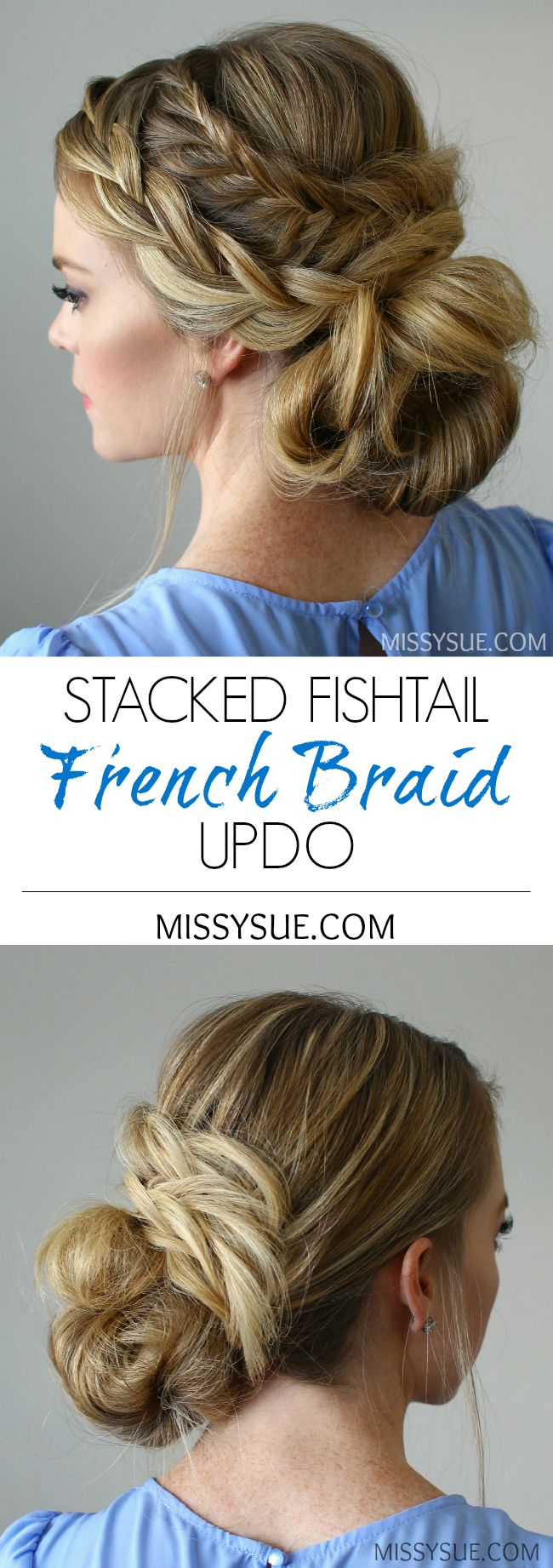 best 20+ french braid updo ideas on pinterest | french braided