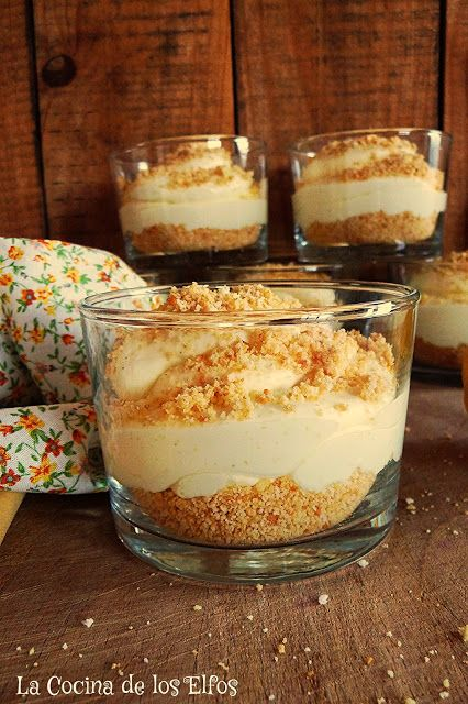 Cheesecake de Limón (en versión mini y sin horno)