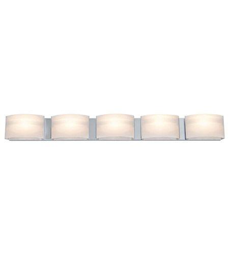 Hey Look What I found at Lighting New York  DVI DVP1795CH-OP Vanguard LED 42 inch Chrome Vanity Light Wall Light #LightingNewYork