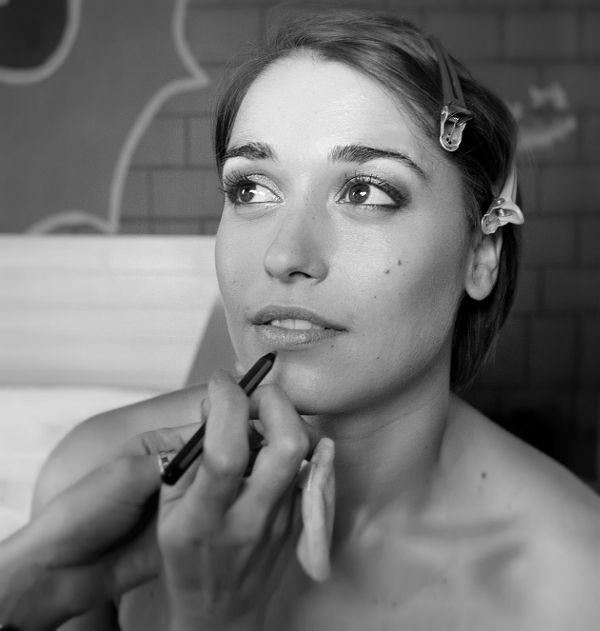 Soft smokey eyes... makeup by @antigonimakeup  Photo by Malama