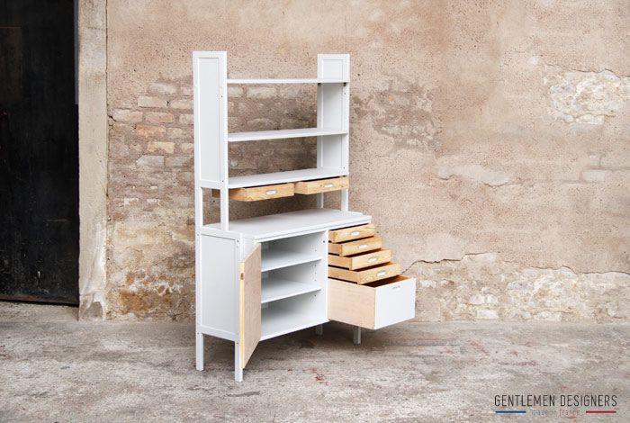 les 125 meilleures images du tableau armoires tag res sur pinterest. Black Bedroom Furniture Sets. Home Design Ideas