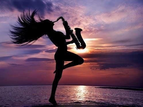 a cool woman sax pic | Sax City | Saxophone music ...