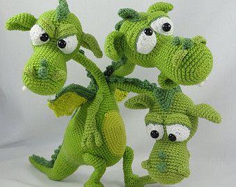 Amigurumi Crochet Pattern Emma the Emu par IlDikko sur Etsy