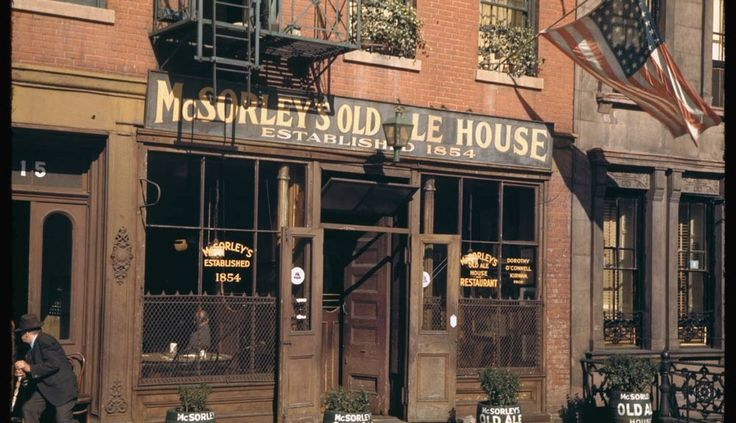 PODCAST: McSorley's Old Ale House - The Bowery Boys: New York City History