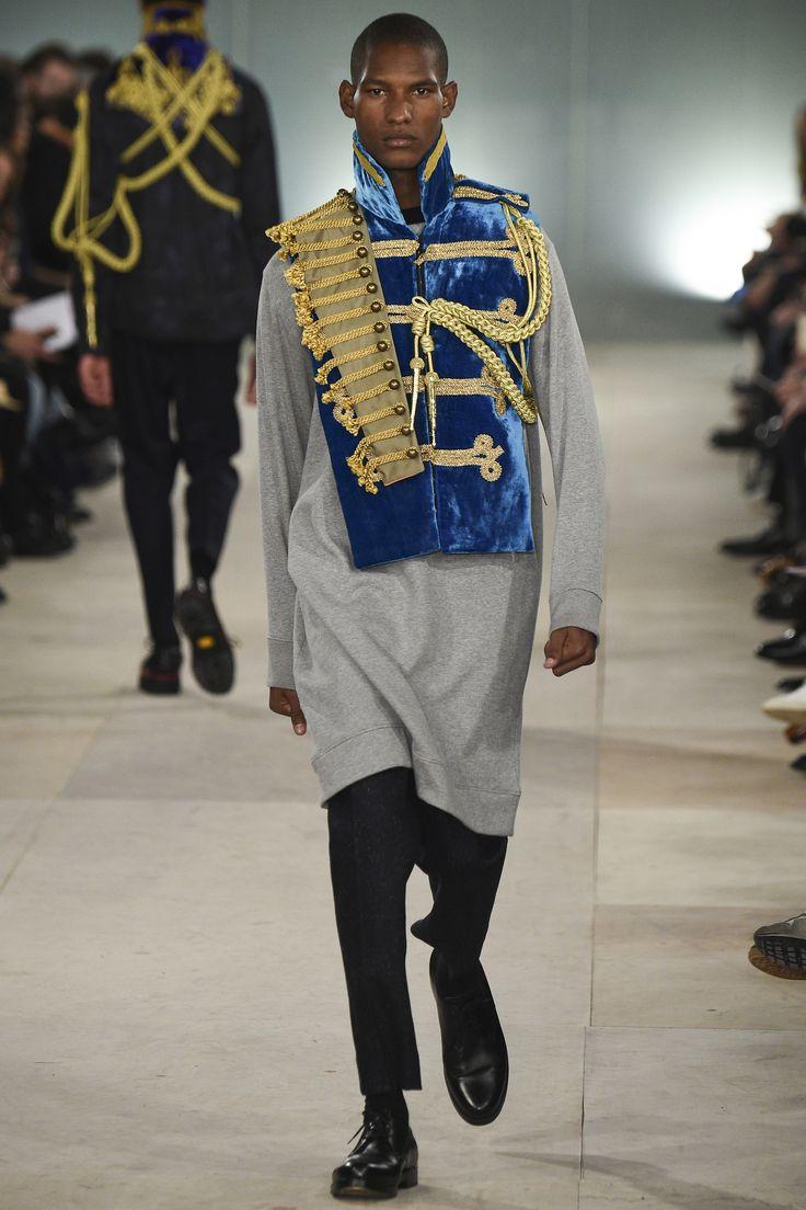 Défilé Casely Hayford homme Automne-Hiver 2016-2017