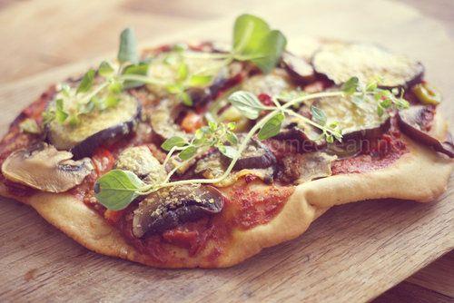 Glutenfri pizzabunn og pitabrød
