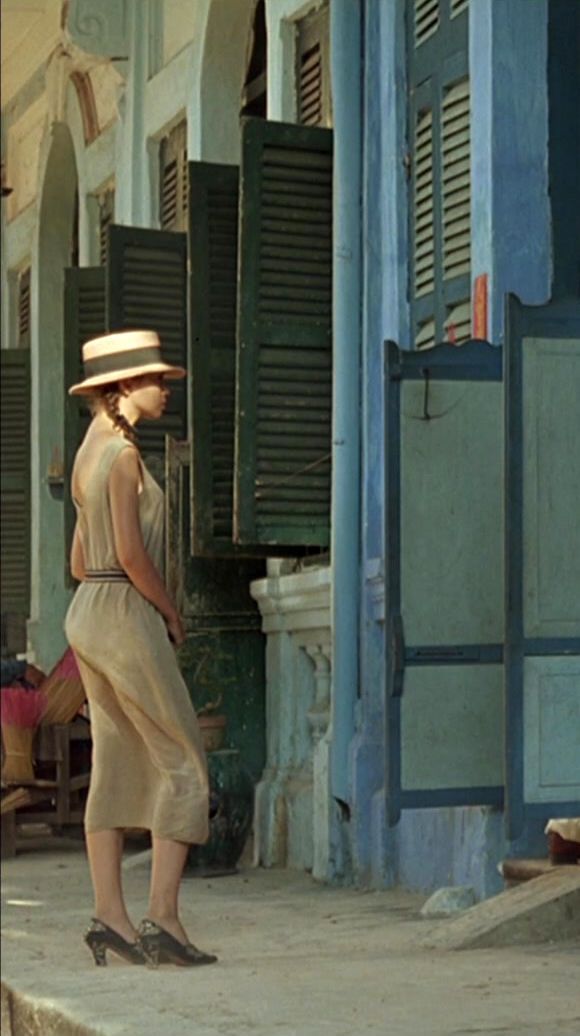 Jane March, The Lover... Old World Vietnam, such a cool look.