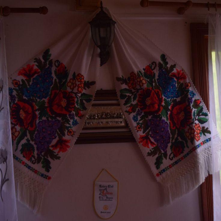 La décoration de la Pension Scarisoara, dans les Apuseni