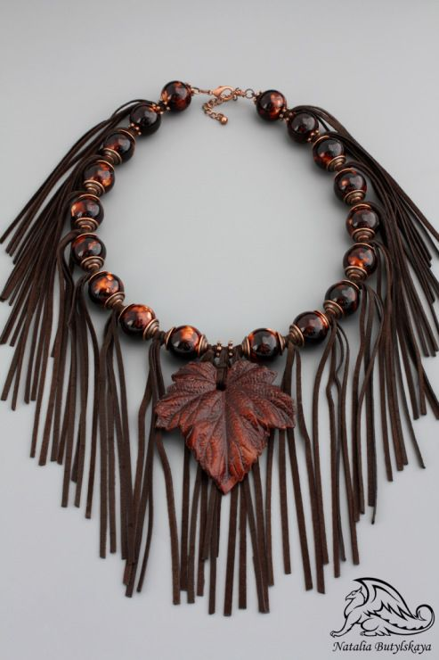 (1) Gallery.ru / Утешитель высохших листьев - Бусы - griffin