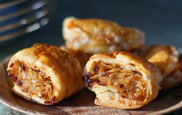 Savory puff pastry turnovers | Flickr - Photo Sharing!