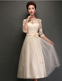 D g gold lace dress bridesmaid