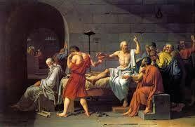 """El termino """"sofista"""" deriva del griego sofós, que significa """"sabio"""". Se les denominaba """"maestros del saber"""" y se dedicaban a enseñar a otros cobrando como quien ejerce otro oficio cualquiera, a la oratoria y a la escritura.  La causa del movimiento de los sofistas fue la evolución política de Grecia. El tema de reflexión es el hombre y la sociedad. Como los sofistas eran viajeros, conocían diferentes culturas. Algunos sofistas fueron: Protágoras, Gorgias, Calicles y Trasímaco."""