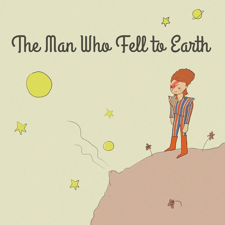 The man who fell to Earth...