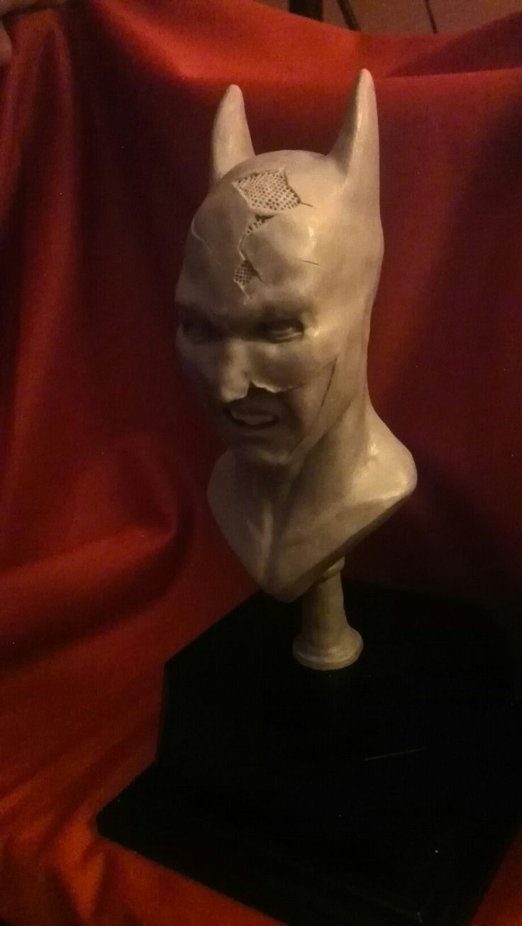 Batman bust sculpted