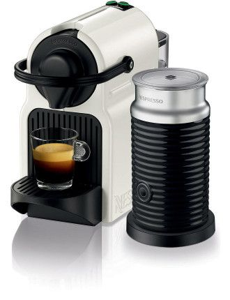 Buy Nespresso Bec200xw Inissia Coffee Machine Bundle White from David Jones at Westfield or buy online from the David Jones website.