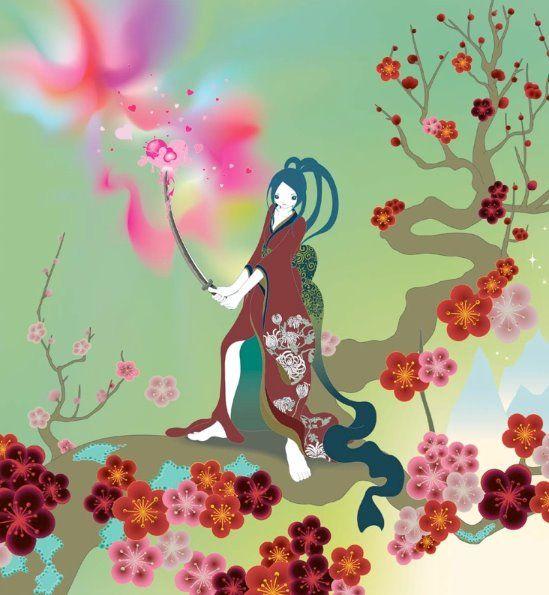 Chiho Aoshima Samurai Girl