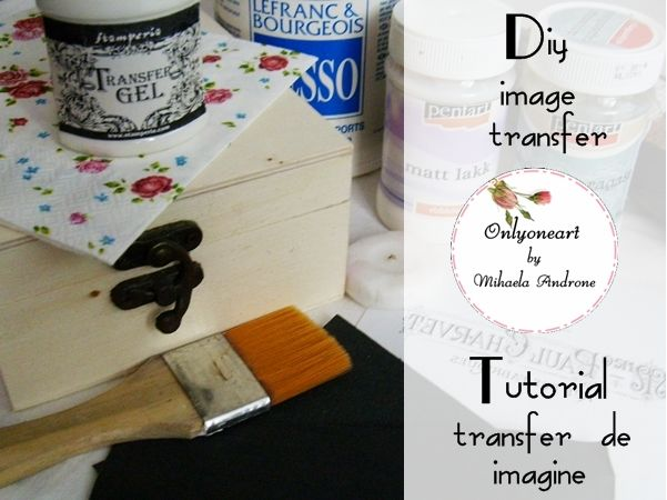 Transfer de imagine / Image transfer – Tutorial