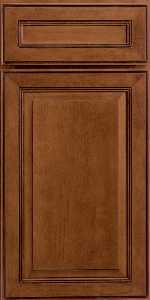 Merillat classic labelle door style in sable stain with for Classic kitchen paint colors