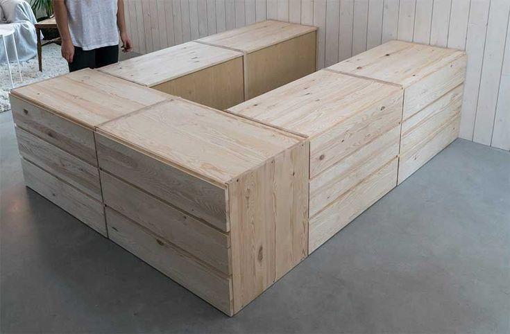 Ikea-hacks med Ivar för compact living-hemmet