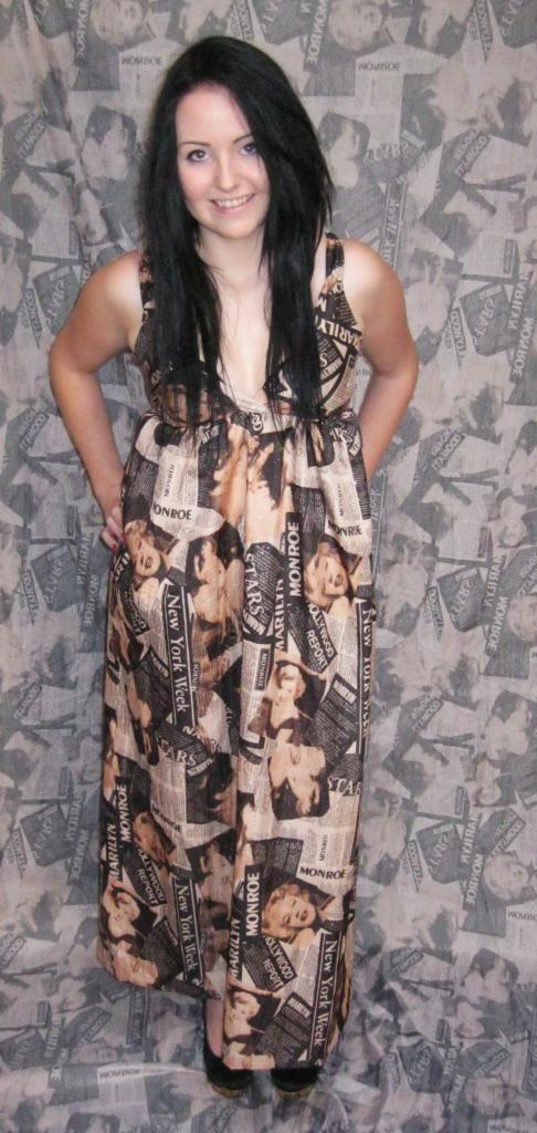 Marilyn Monroe halter dress
