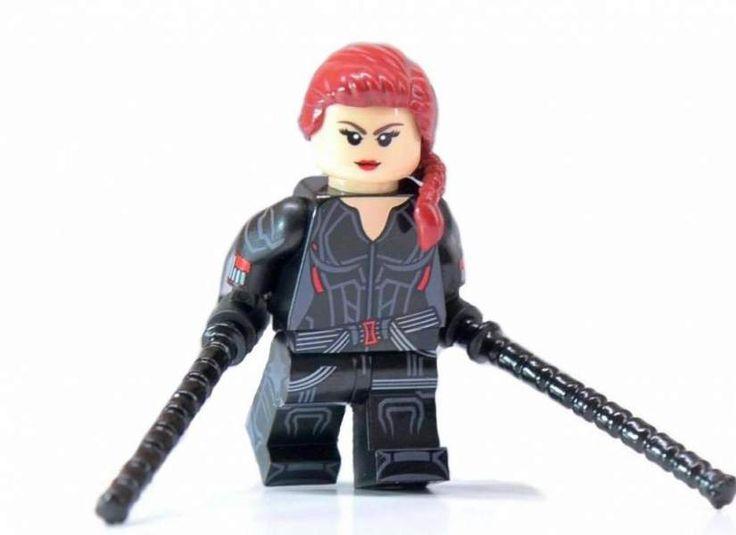 HeroBloks - Black Widow (Endgame) in 2020 | Baby animal ...