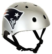 Protect yourself with a New Englad Patriots Multisport Bike Helmet while showing your team pride. This MultiSport Bike Helmet complies with bicycle helmet safety standard for person's age 5 and older.