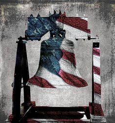 "Awesome --All American Liberty Bell Art_denim Photography digitally enhanced of the American flag and the Liberty Bell. This version ""Denim"" from the ""American Liberty Bell"" series has black and white background and denim toned blues. Fabulous patriotic staging art with liberty and justice for all. A unique symbol of freedom in America. #liberty #bell #patriotic #giftideasforhim #giftideas #military #art #artfirsake #freedom #starsandstripes #usflag #staging #homedecor #interiordecorating"