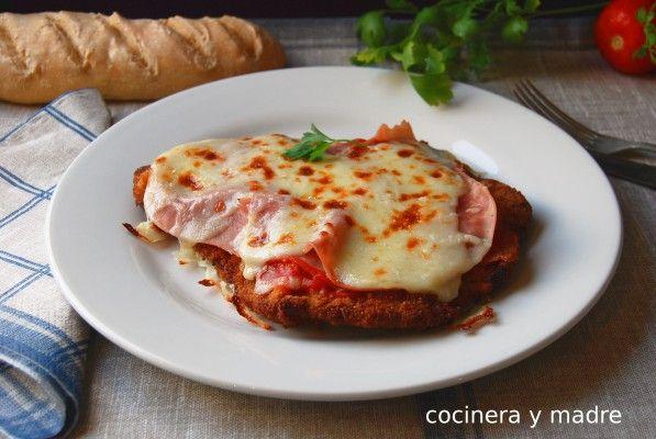 Milanesa a la napolitana - Cocinera y Madre