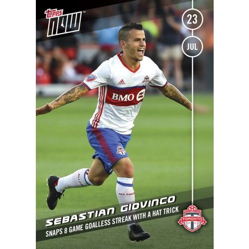 Sebastian Giovinco - Topps NOW Card 7 - Print Run QTY: 172 Cards