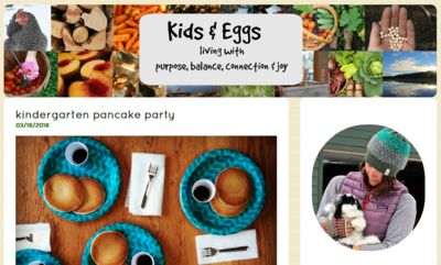 Featured Blog: Kids and Eggs