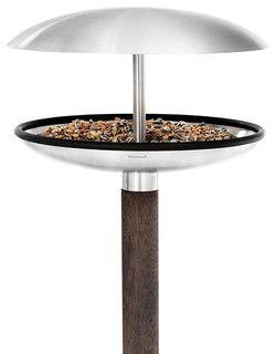 Fuera Bird Feeder/Birdbath - contemporary - bird feeders - austin - by PureModern