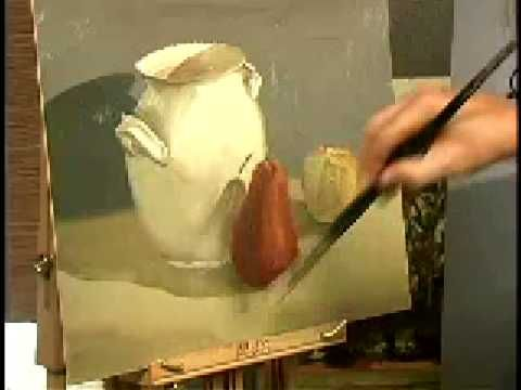 17 best images about video on pinterest portrait figure for How to start an oil painting for beginners