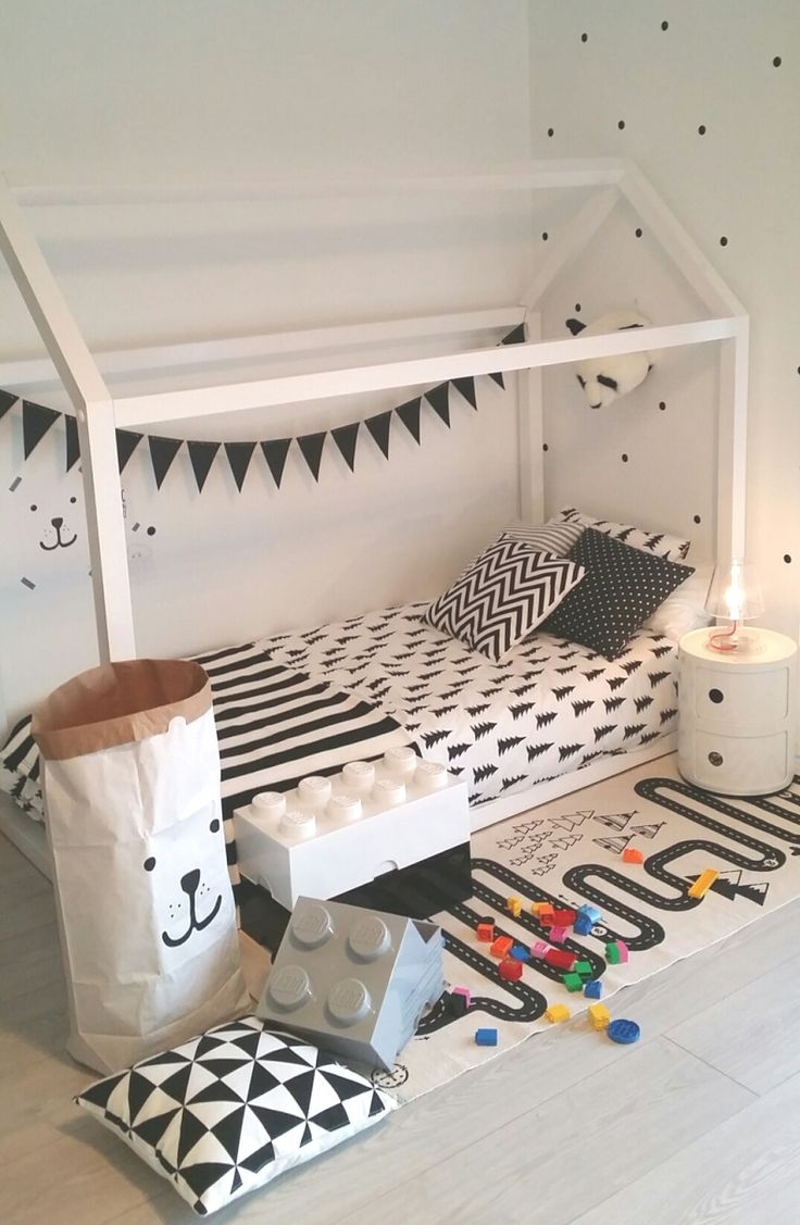 Habitación infantil en blanco y negro   Deco&Kids