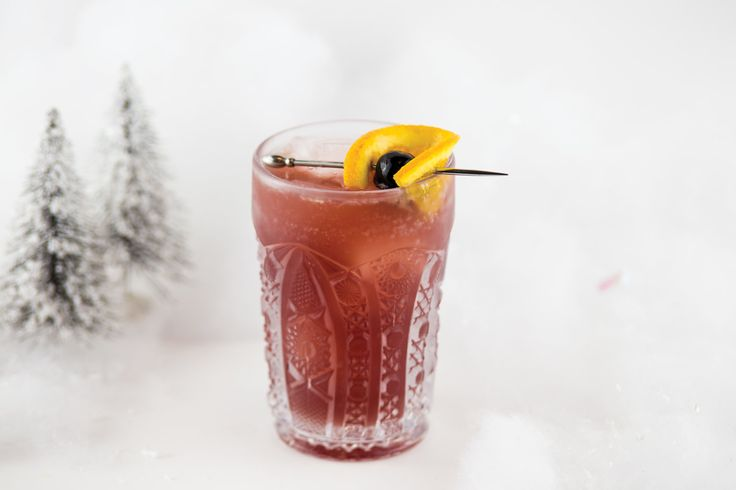 Mistletoe Sangria. — Bar de Bex