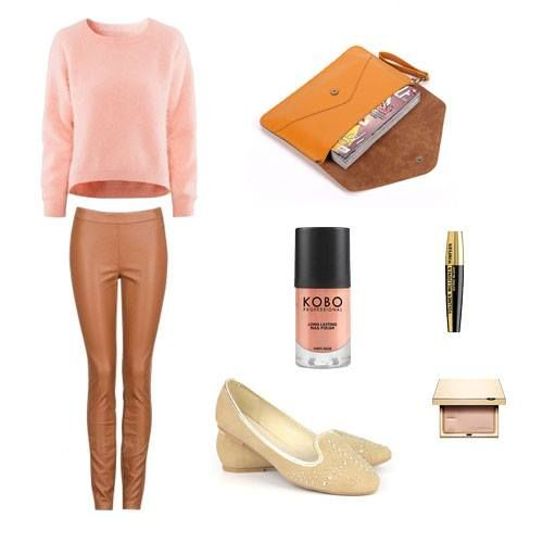 Casual outfit  bag and shoes - www.broshka.pl