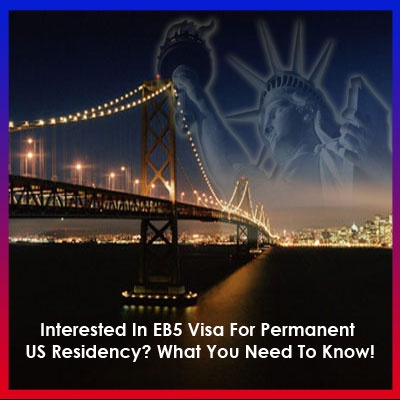 The much-talked about and highly helpful EB-5 Investor Permit Program of the US permits the overseas businessmen and entrepreneurs–who make an investment in a US firm/business enterprise–get their Green Cards, prior to becoming America's legal permanent residents.
