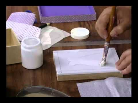 Aprenda a técnica de pintura em patchwork embutido! - YouTube