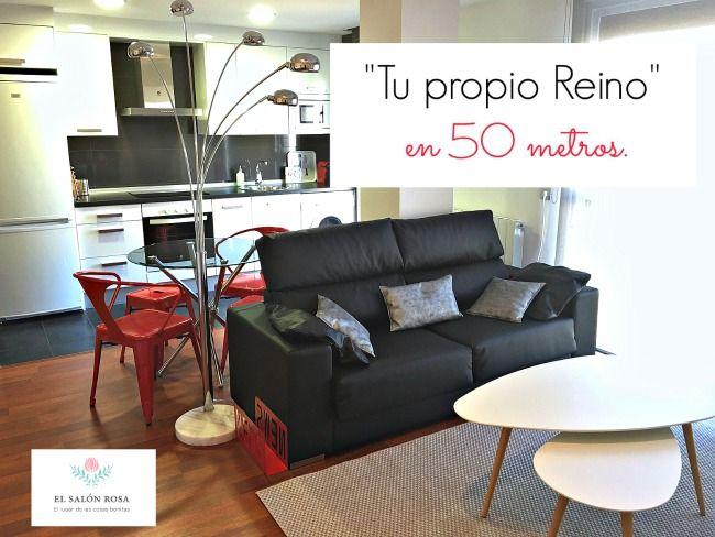 Post de decoración del Salon Rosa para sacar el mejor partido a 50m.   http://elsalon-rosa.blogspot.com.es/